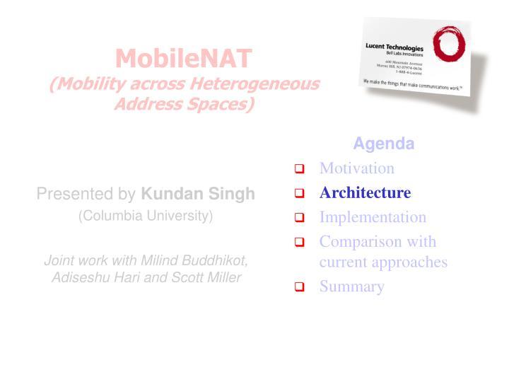 MobileNAT