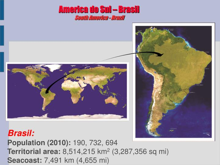 America do Sul – Brasil