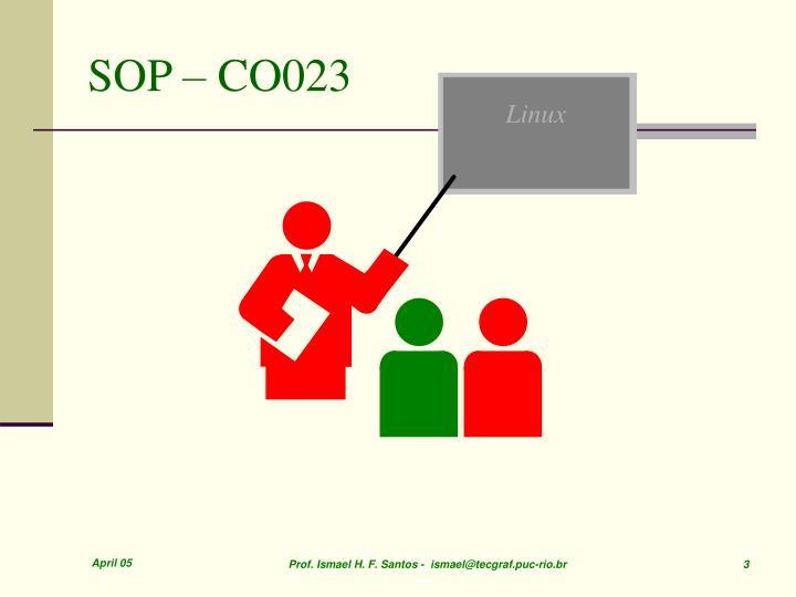 SOP – CO023