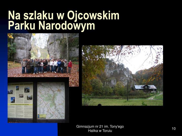 Na szlaku w Ojcowskim Parku Narodowym