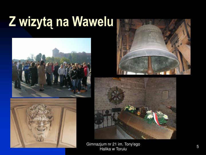 Z wizytą na Wawelu