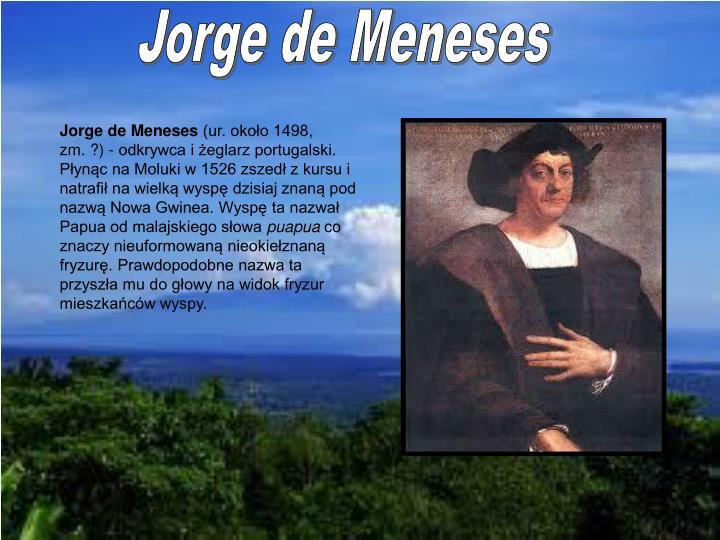 Jorge de Meneses