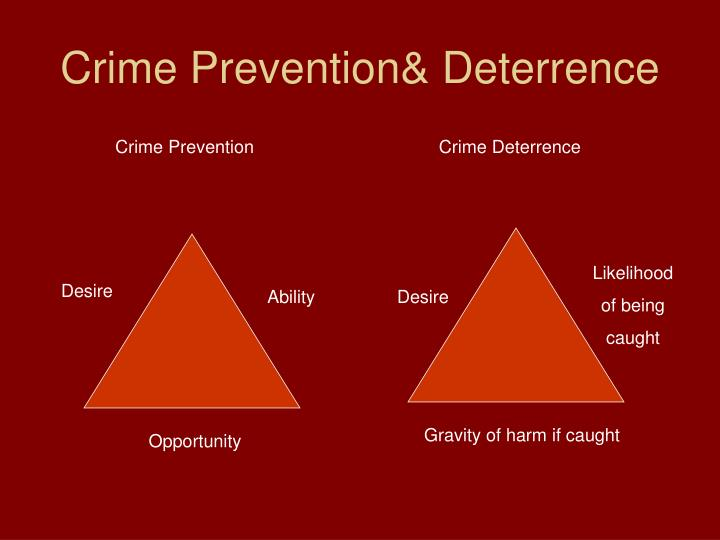 Crime Prevention& Deterrence