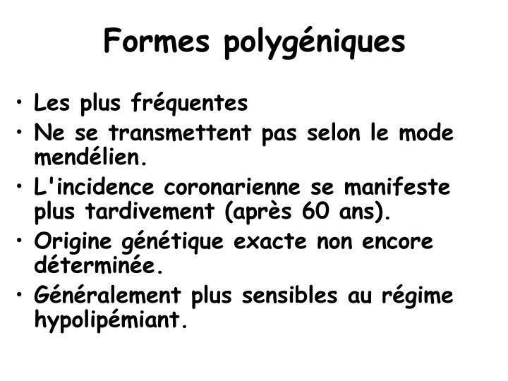 Formes polygéniques