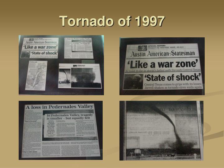 Tornado of 1997