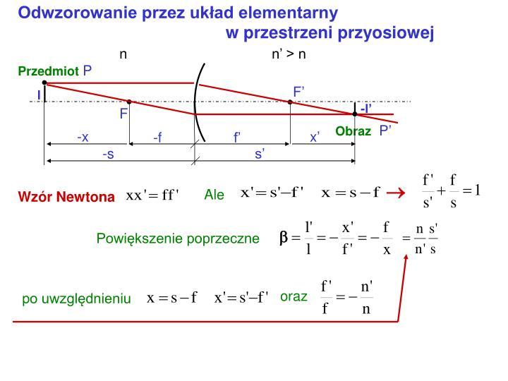 Odwzorowanie przez układ elementarny