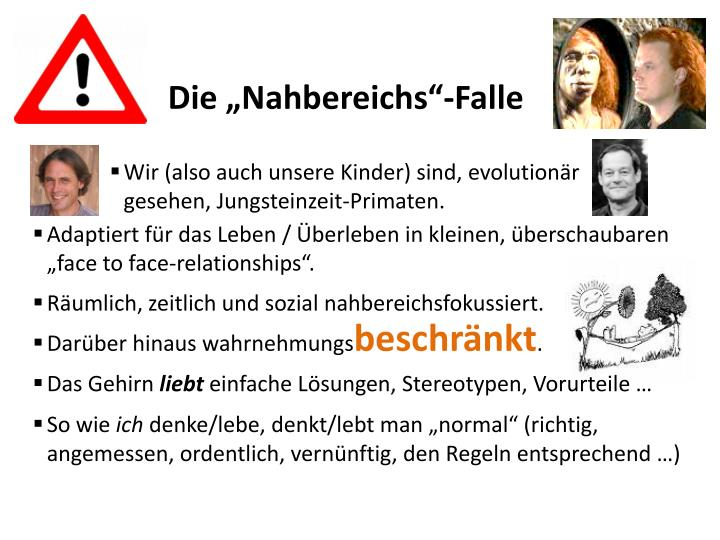 """Die """"Nahbereichs""""-Falle"""