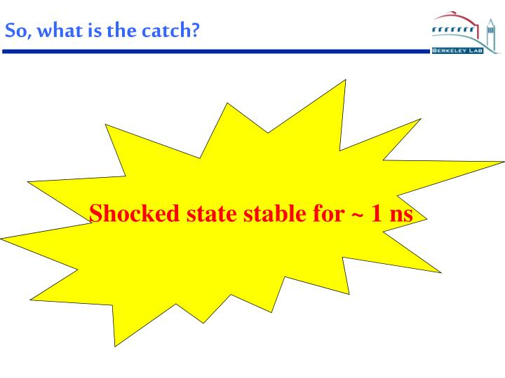 So, what is the catch?