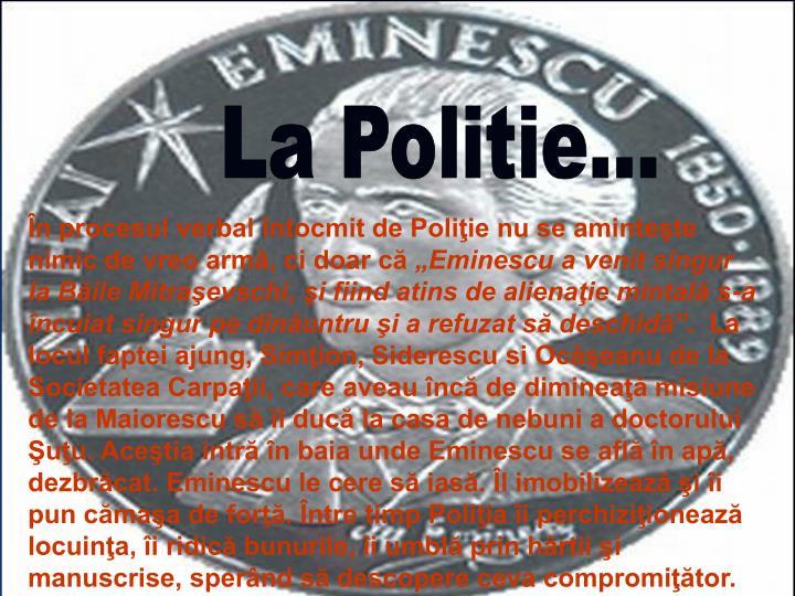 La Politie…