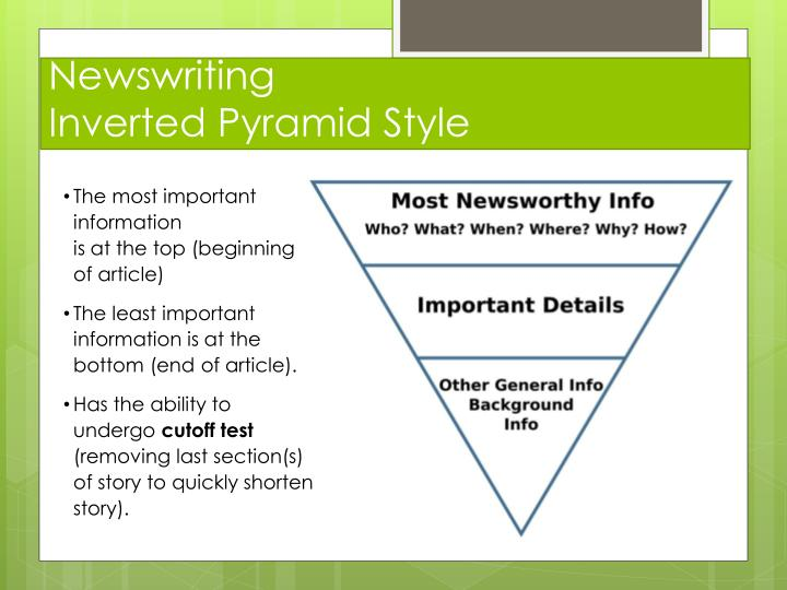 Newswriting