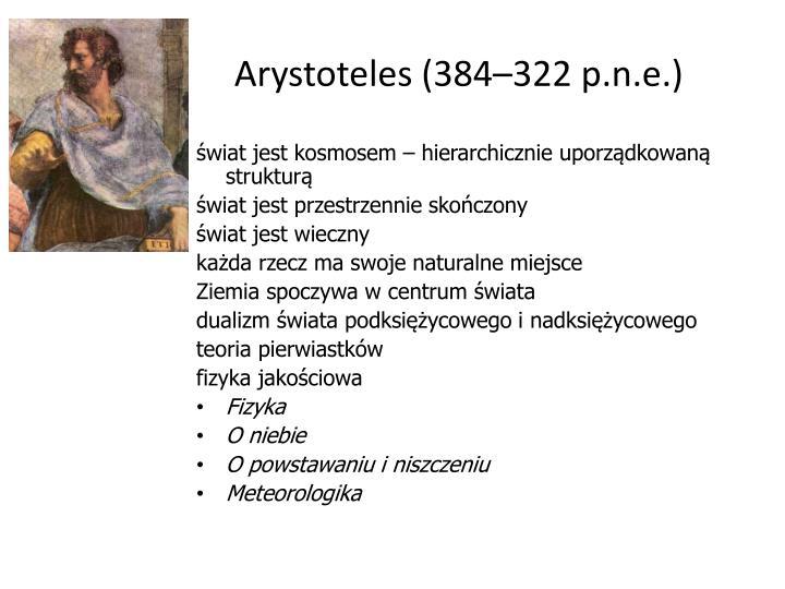 Arystoteles (384–322 p.n.e.)