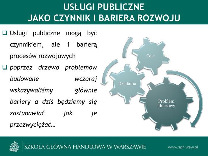 USŁUGI PUBLICZNE
