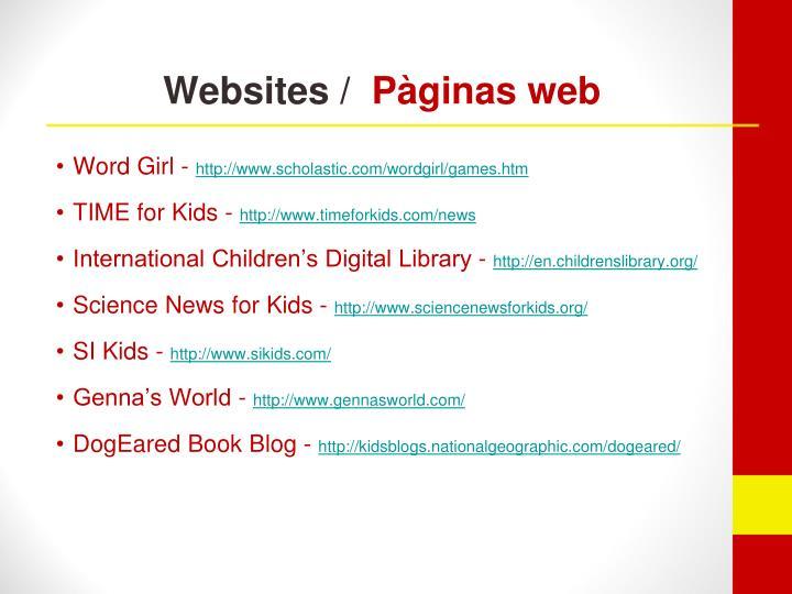 Websites /