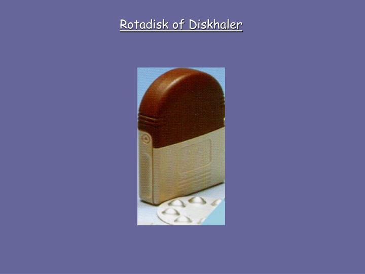 Rotadisk of Diskhaler