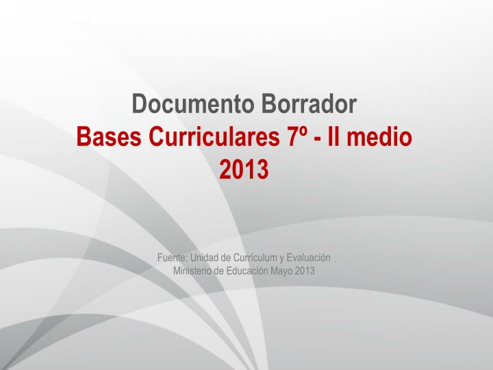 Documento Borrador