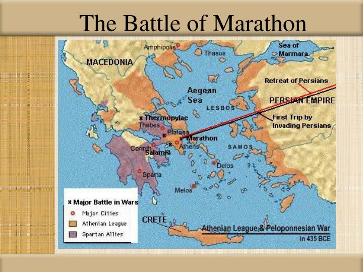 The Battle of Marathon