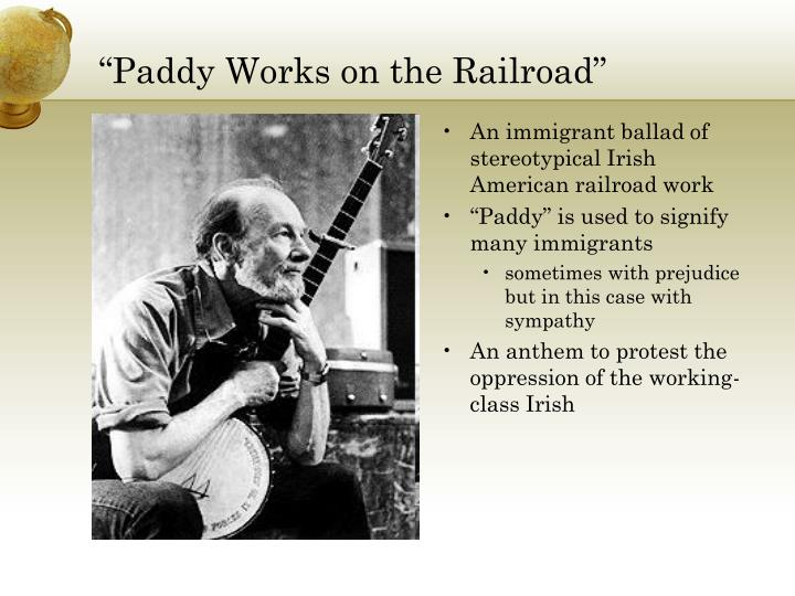 """Paddy Works on the Railroad"""