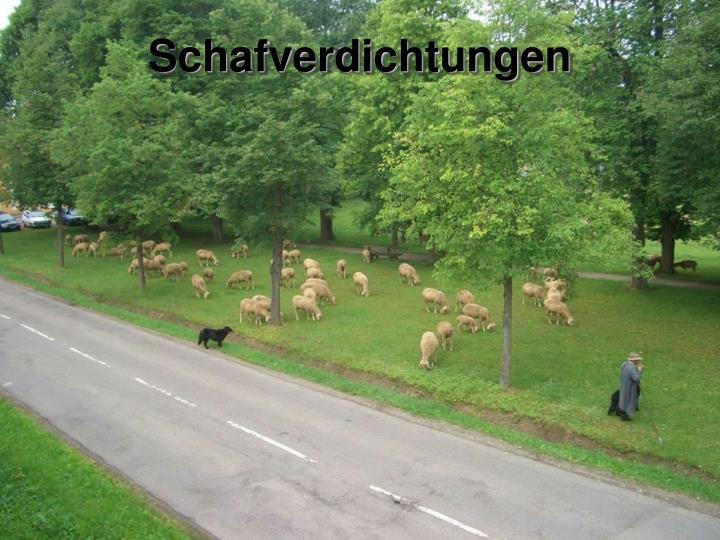 Schafverdichtungen