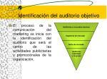 identificaci n del auditorio objetivo