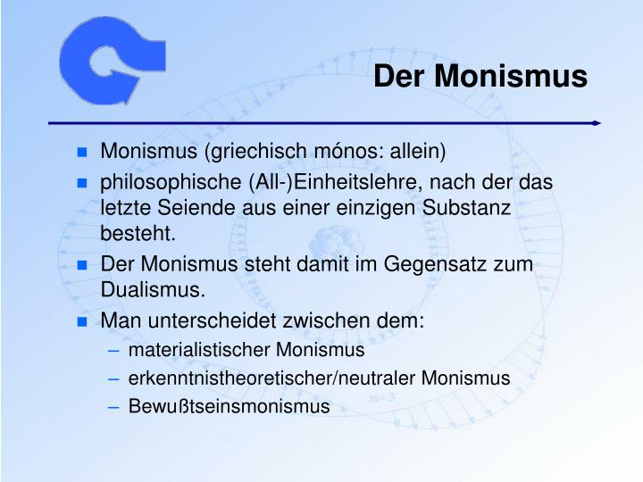 Der Monismus
