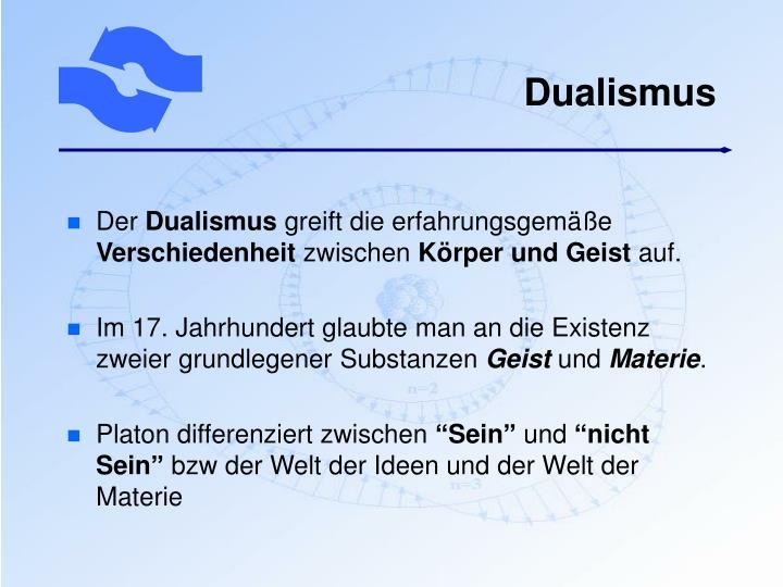 Dualismus