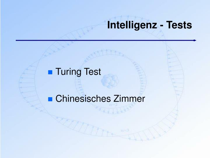 Intelligenz - Tests