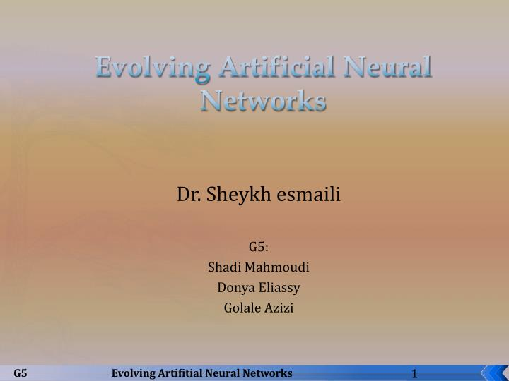 Evolving artificial neural networks