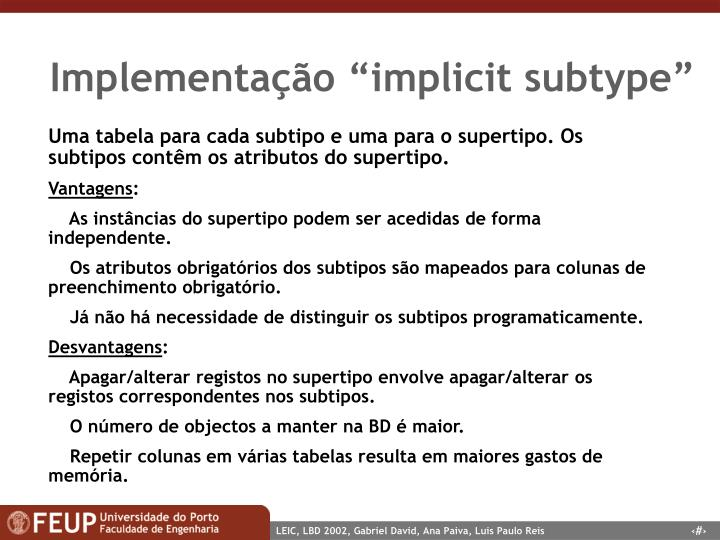 "Implementação ""implicit subtype"""
