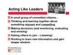 acting like leaders1