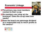 economic linkage