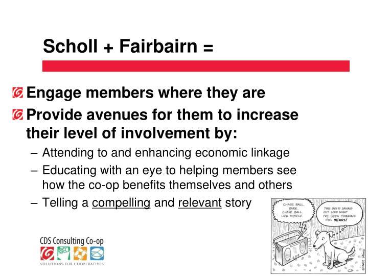 Scholl + Fairbairn =
