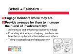 scholl fairbairn