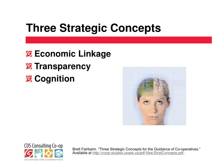 Three Strategic Concepts