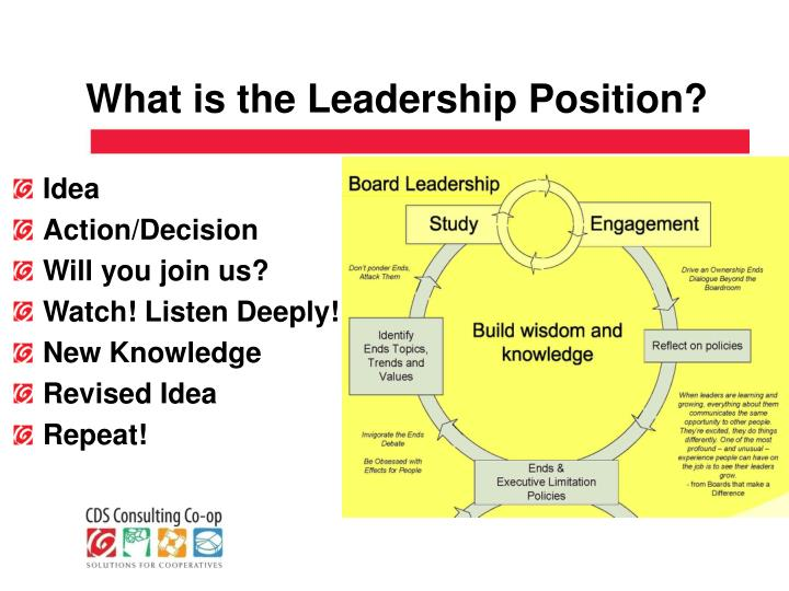 What is the Leadership Position?