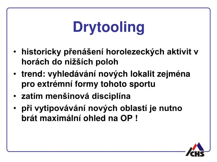 Drytooling