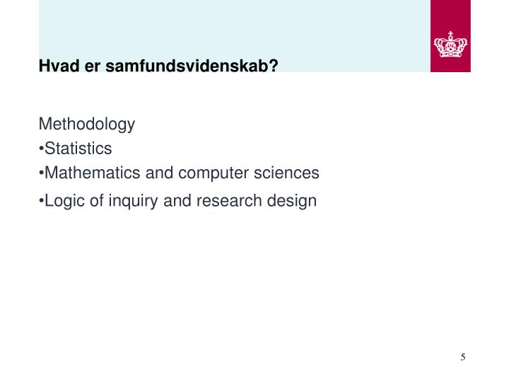 Hvad er samfundsvidenskab?