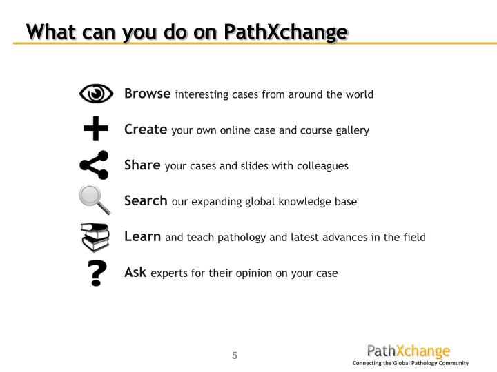 What can you do on PathXchange