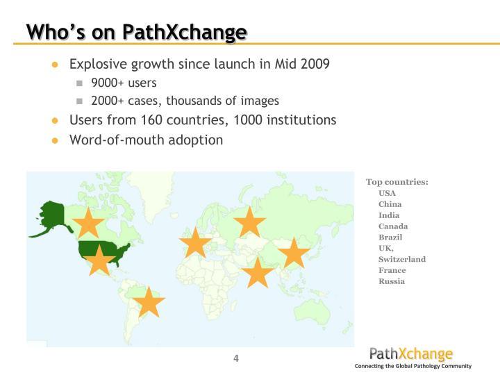 Who's on PathXchange