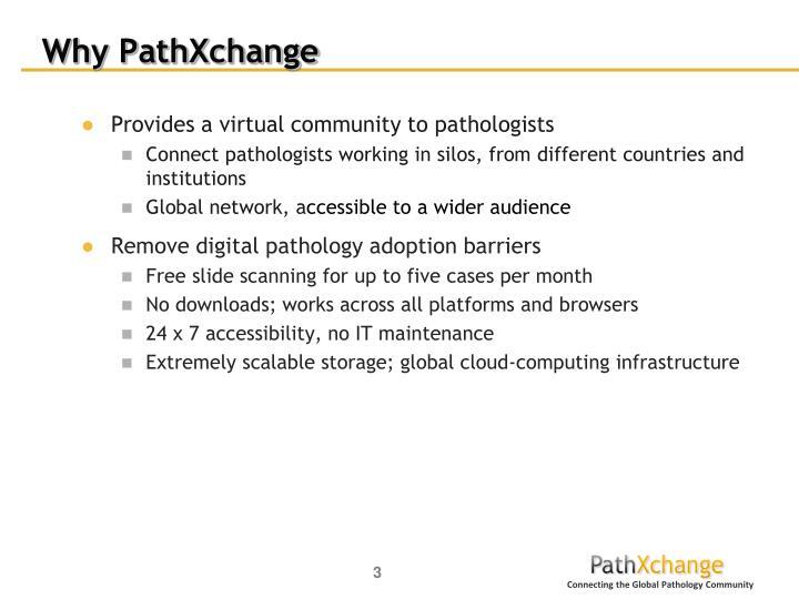 Why PathXchange