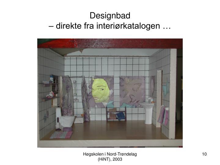 Designbad