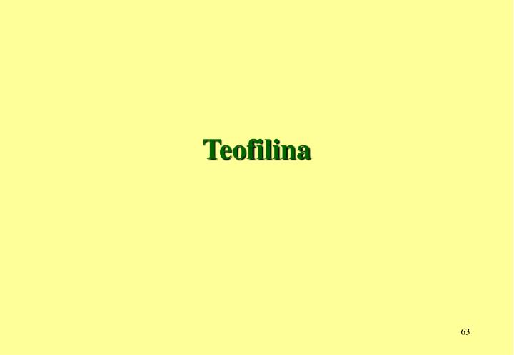 Teofilina