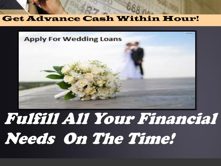 Get Advance Cash Within Hour!