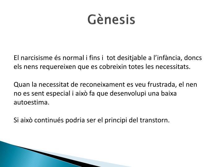 Gènesis
