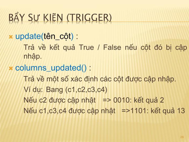 update(