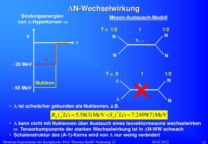Meson-Austausch-Modell
