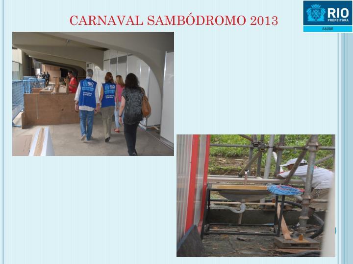 CARNAVAL SAMBÓDROMO 2013
