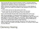 clemency hearing1