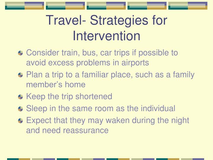 Travel- Strategies for Intervention