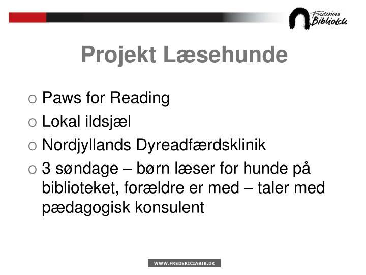 Projekt Læsehunde