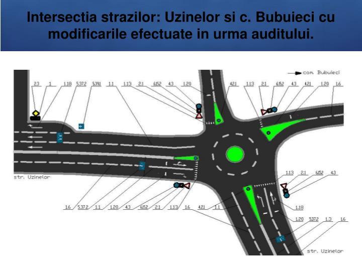 Intersectia strazilor: Uzinelor si c.